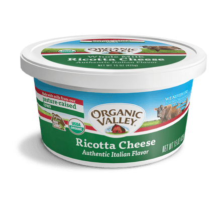Whole Milk Ricotta Cheese, 15 oz