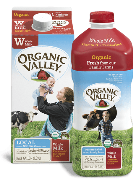 Milk | Buy Organic Valley Near You
