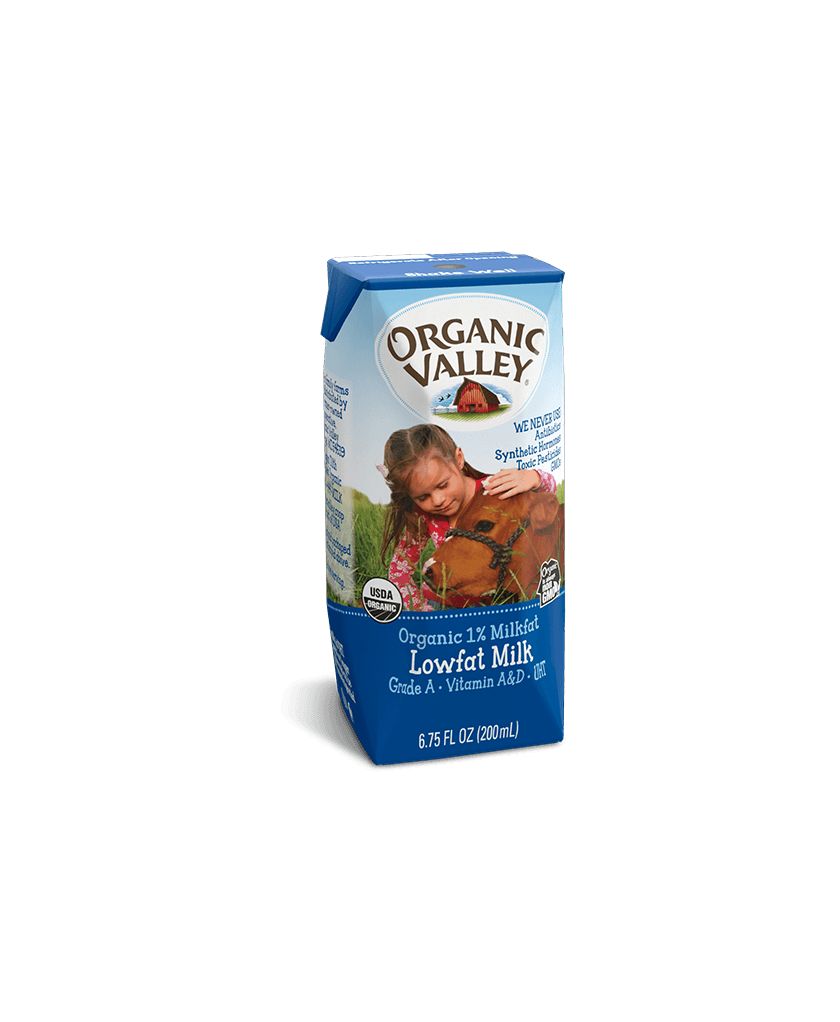 Single-Serve Lowfat 1% Milk
