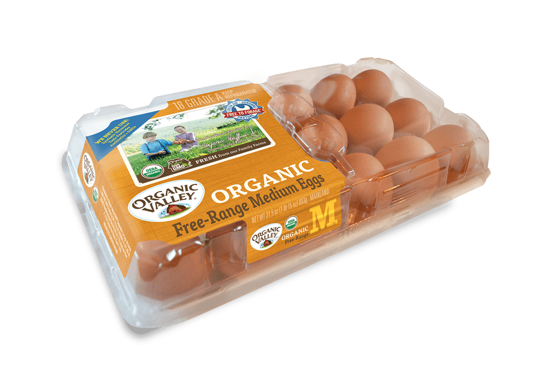 Medium Eggs, 18 Pack