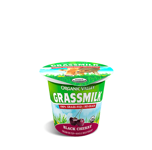 Black Cherry Grassmilk Yogurt, 6 oz