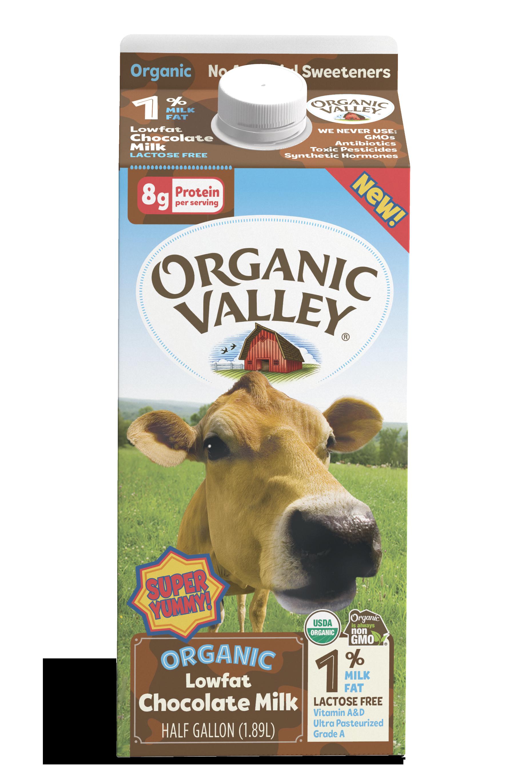 Lowfat 1% Chocolate Milk, Half Gallon
