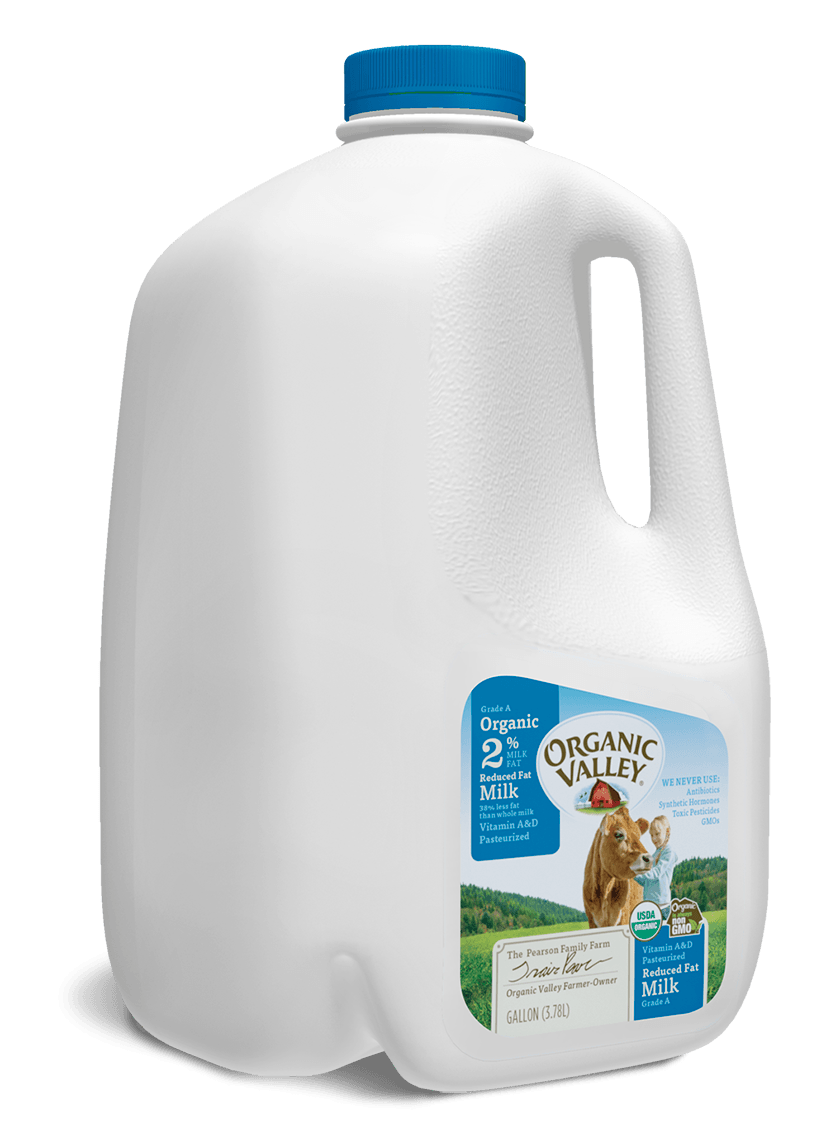 Reduced Fat 2% Milk, Pasteurized, Gallon