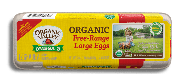 Large Omega-3 Eggs, One Dozen
