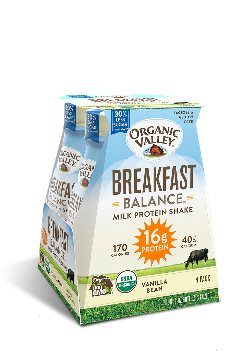 Vanilla Bean Breakfast Balance Protein Shake, 4 pack