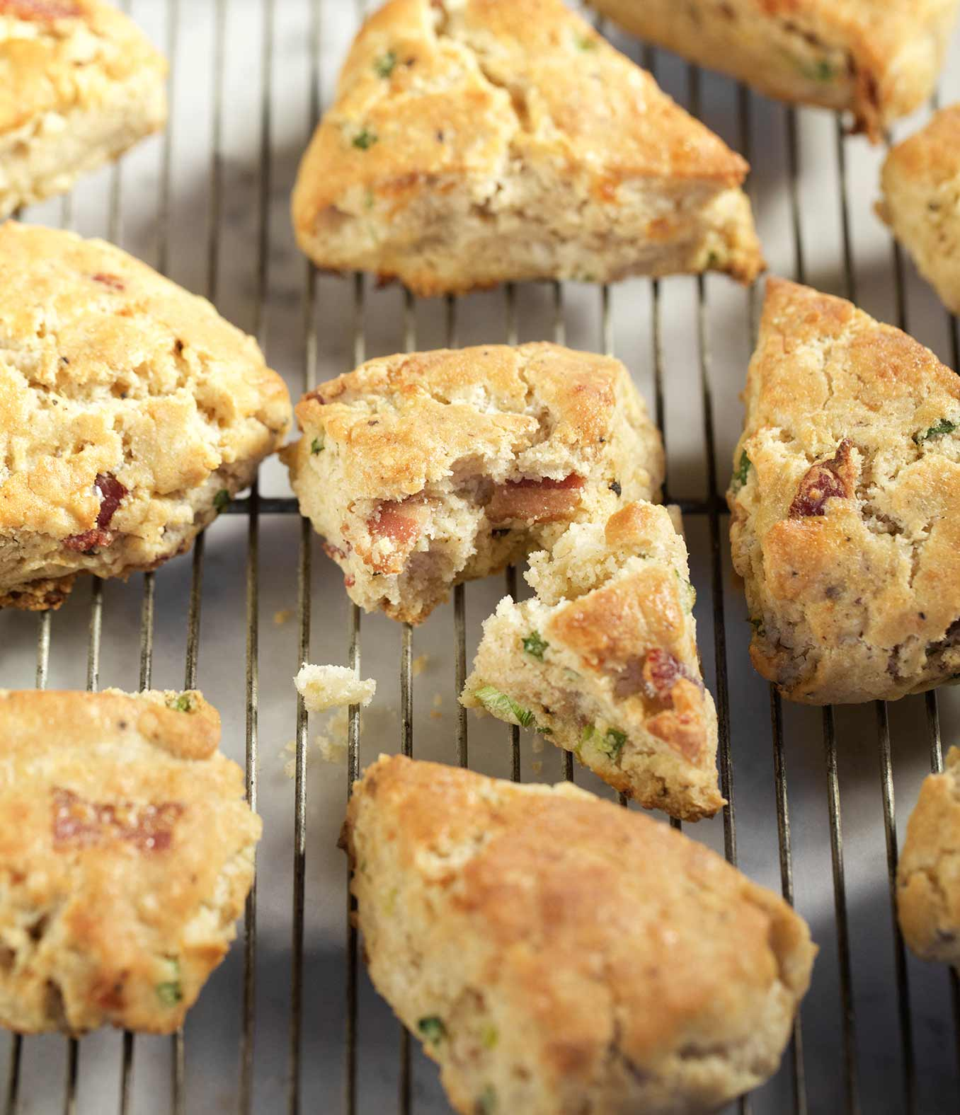 Gluten-Free Bacon and Cheddar Scones