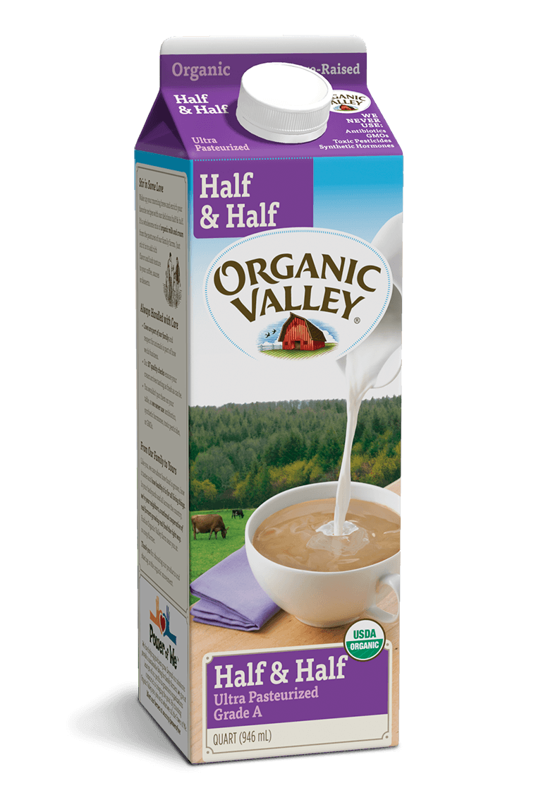 Half & Half, Ultra Pasteurized, Quart