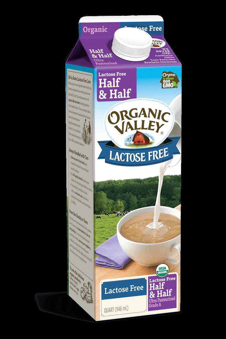 Lactose-Free Half & Half, Quart