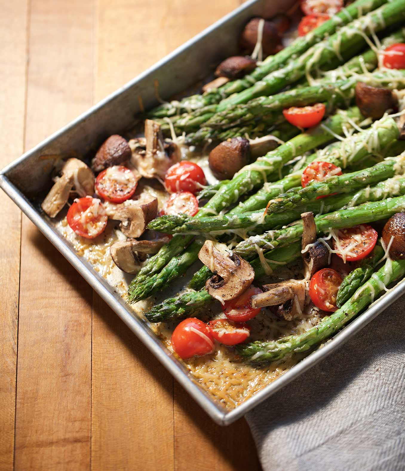 Butter-Roasted Asparagus With Organic Valley
