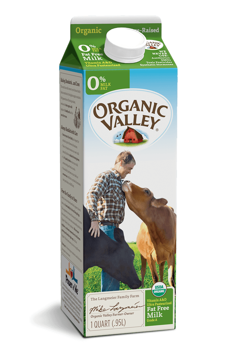 Fat Free Skim Milk, Ultra Pasteurized, Quart