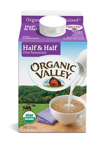 Half & Half, Ultra Pasteurized, Pint