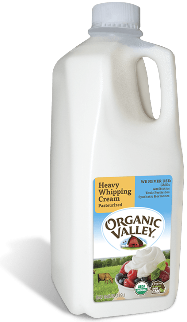 Heavy Whipping Cream, Pasteurized, Half Gallon