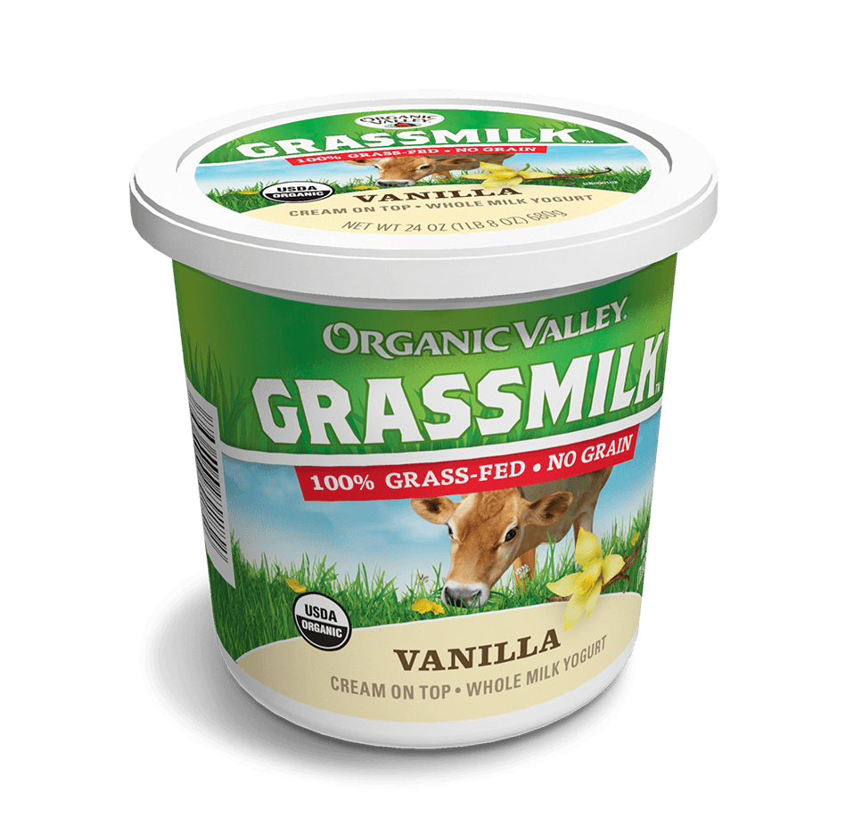 Vanilla Grassmilk Yogurt, 24 oz