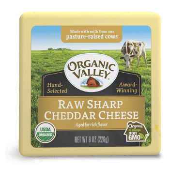Raw Sharp Cheddar, 8 oz