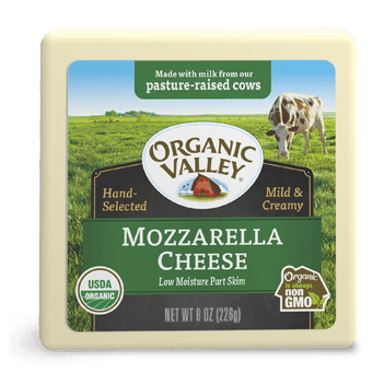 Low Moisture Mozzarella, Part Skim, 8 oz