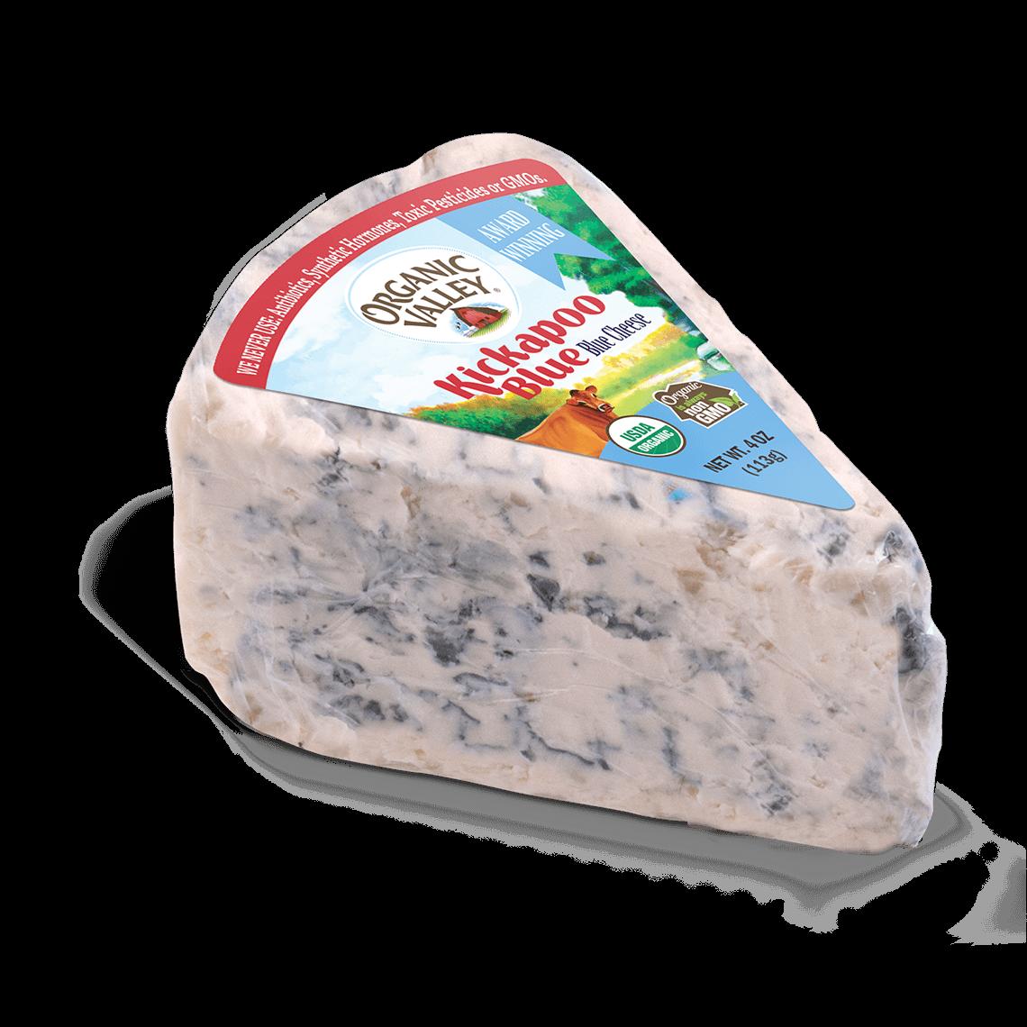 Kickapoo Blue Cheese Wedge, 4 oz