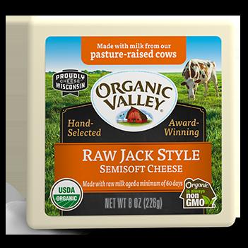 Wisconsin Raw Milk Cheese, Jack Style, 8 oz