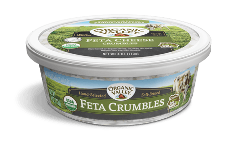 Feta Cheese Crumbles, 4 oz