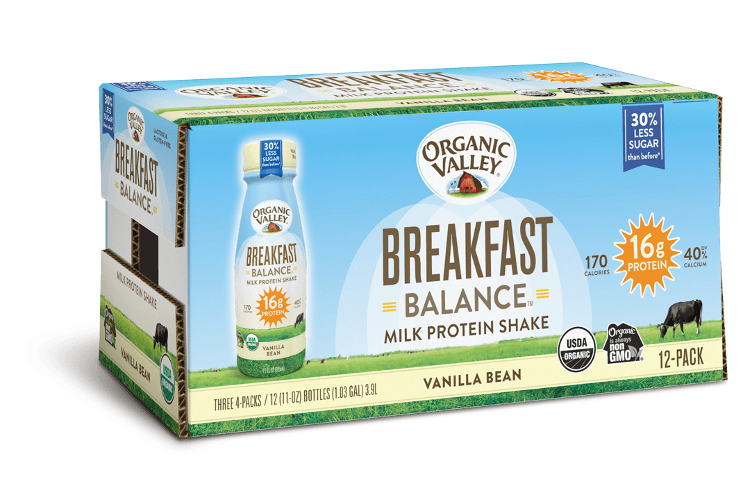Vanilla Bean Breakfast Balance Protein Shake, 12 pack