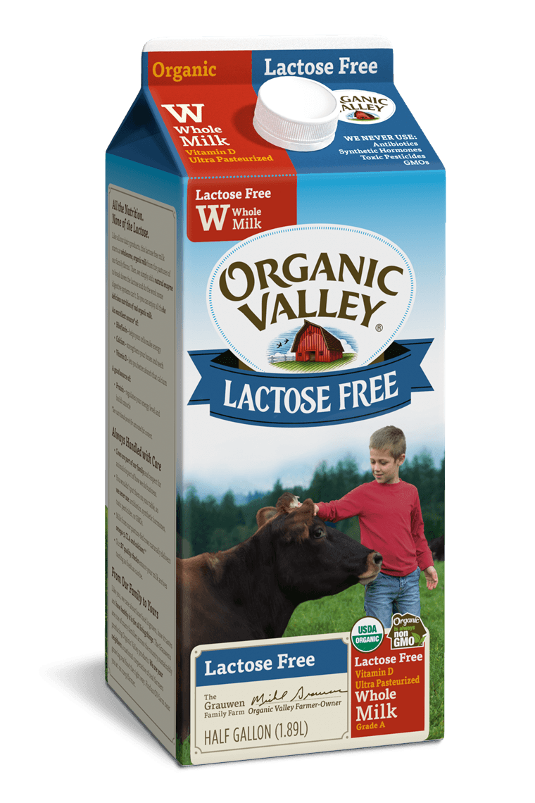 Lactose-Free Whole Milk, Ultra Pasteurized, Half Gallon