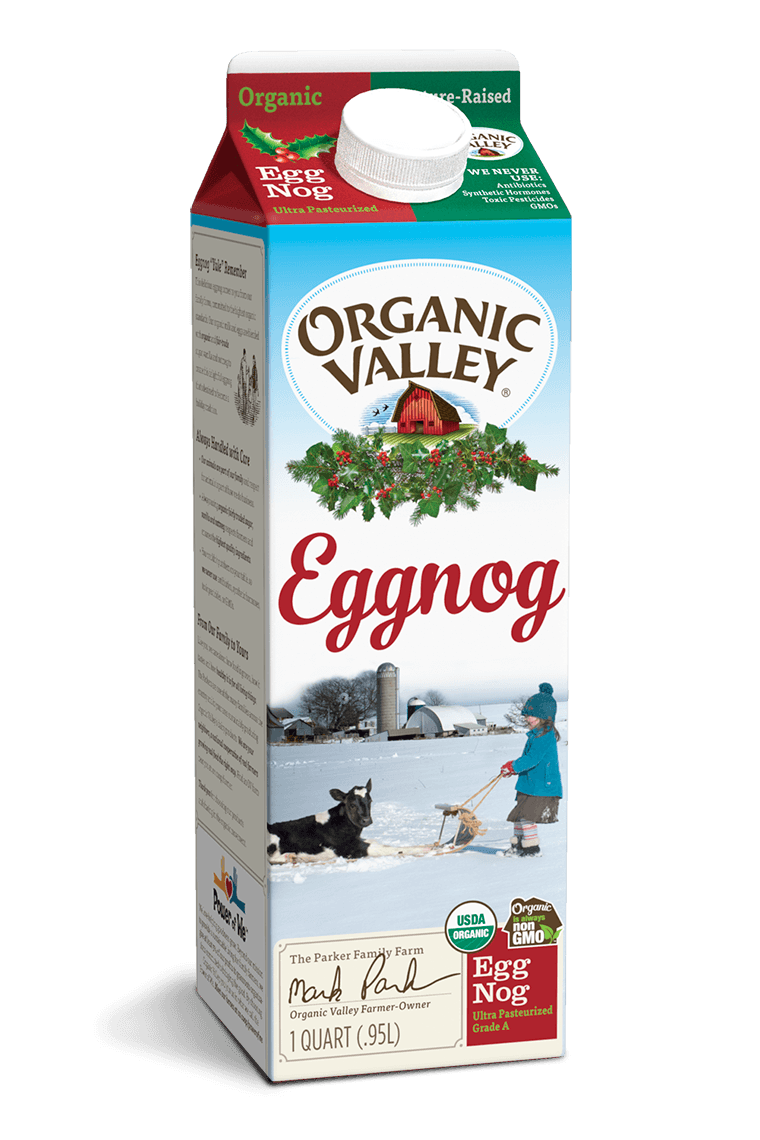 Eggnog, Ultra Pasteurized, Quart