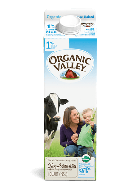 Lowfat 1% Milk, Ultra Pasteurized, Quart