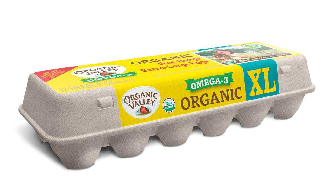 Extra Large Omega-3 Eggs, One Dozen