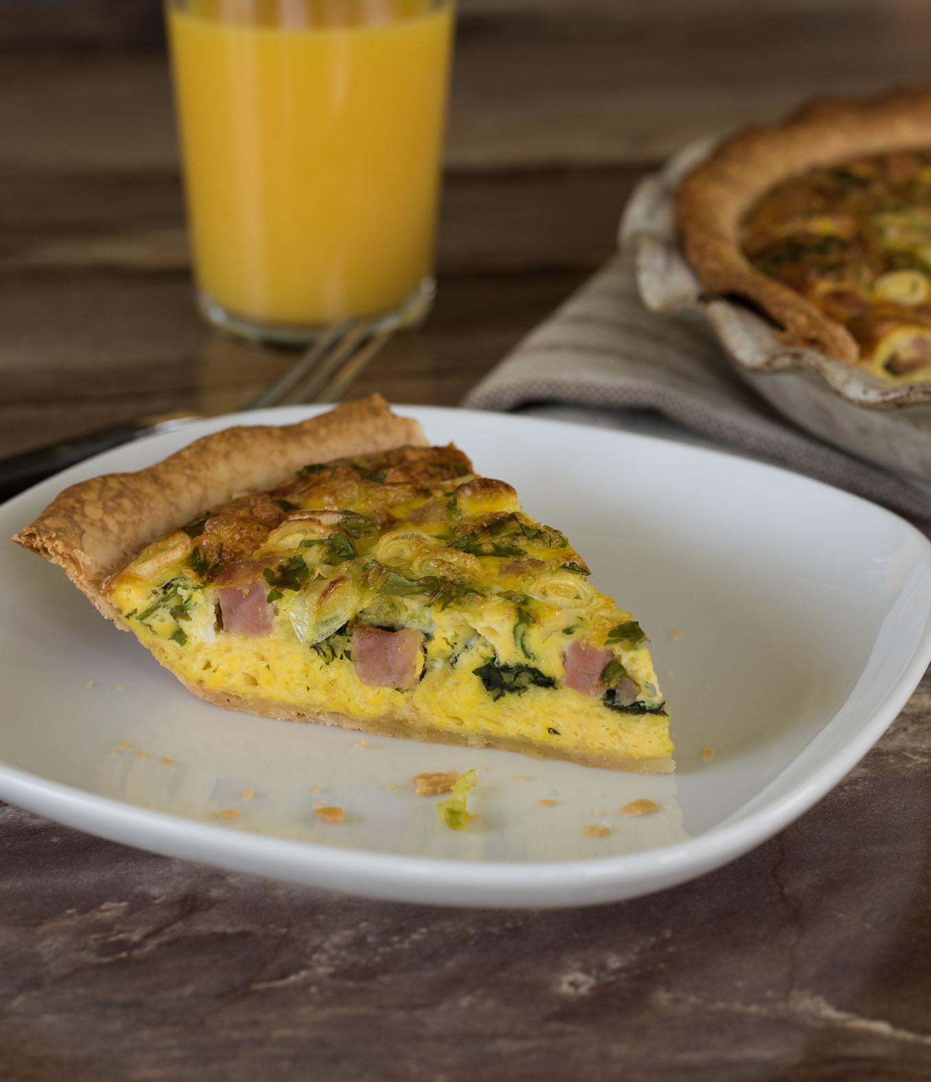 Breakfast Delight Quiche