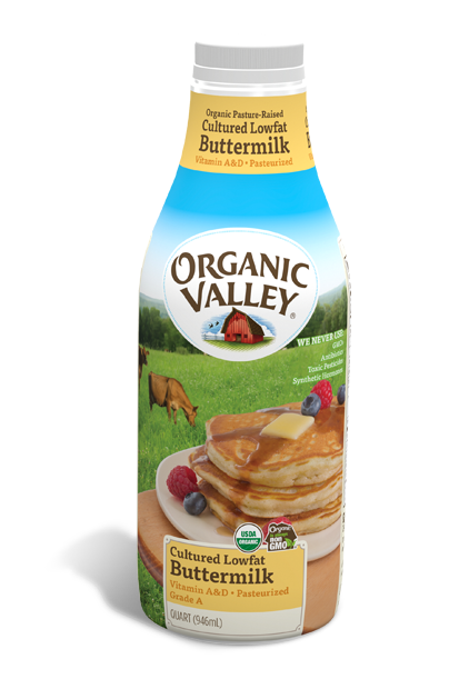 Lowfat 1% Buttermilk, Pasteurized, Quart