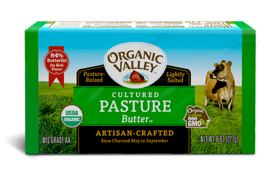 Pasture Butter, Cultured, 8 oz