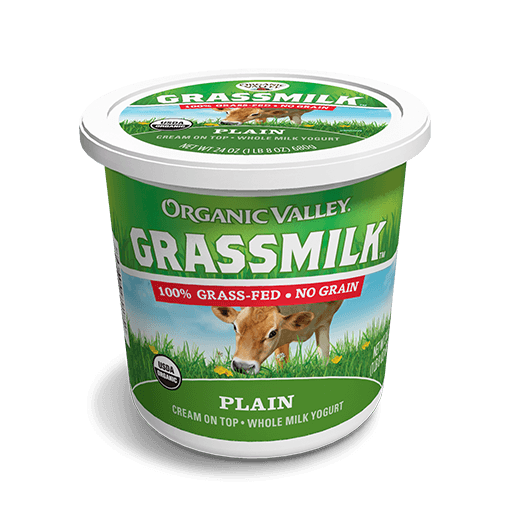 Plain Grassmilk Yogurt, 24 oz