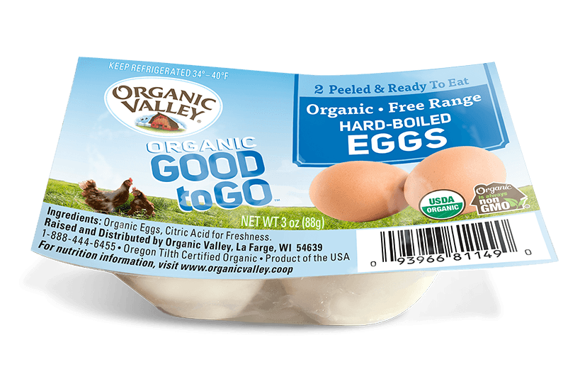 Hard-Boiled Eggs, 2 Pack