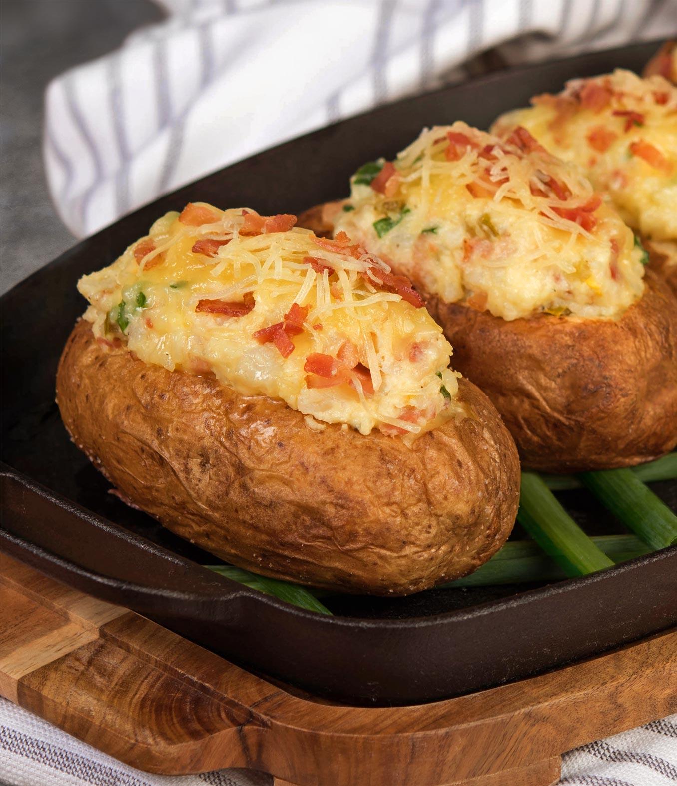 Cheesy Stuffed Potatoes