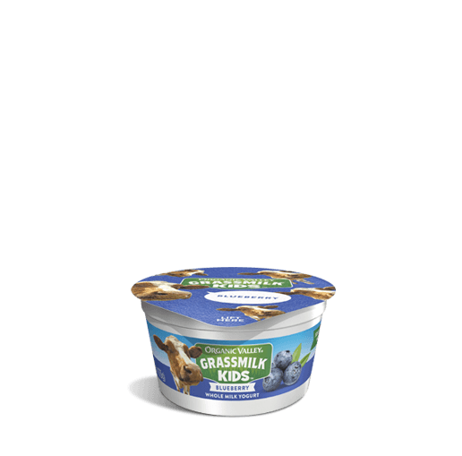 Blueberry Grassmilk Kids Yogurt Cup, 4 oz