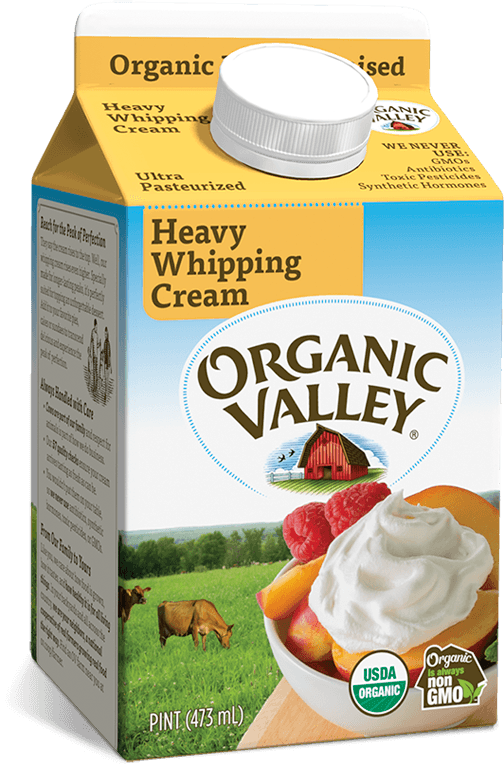 Heavy Whipping Cream, Ultra Pasteurized, Pint