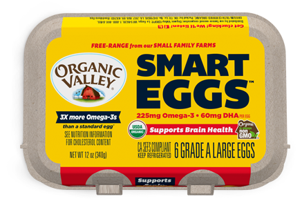 Large Omega-3 Eggs, Half Dozen