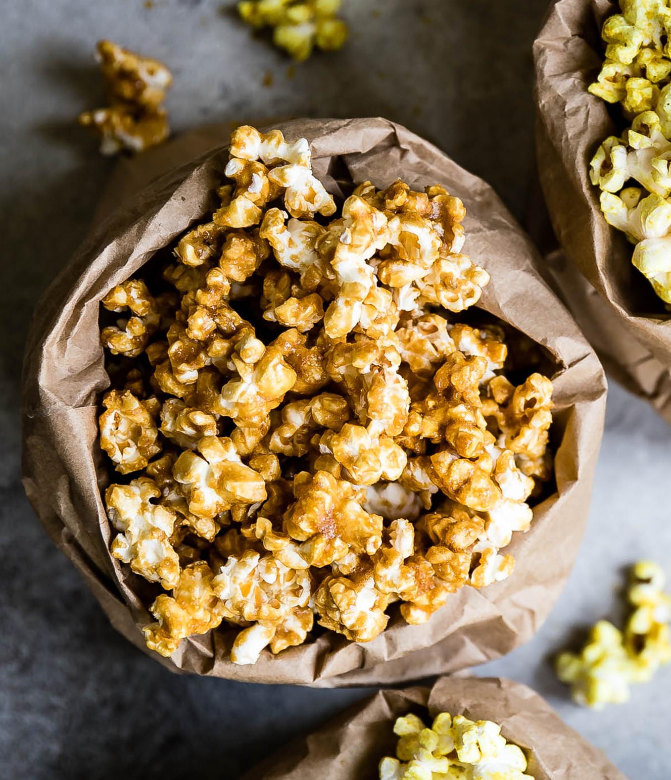 Salted Ghee Caramel Corn