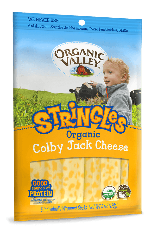 Colby Jack Stringles, 1 oz sticks