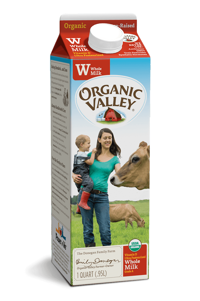 Whole Milk, Ultra Pasteurized, Quart