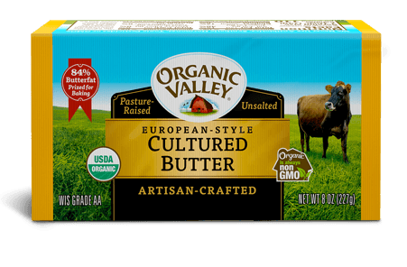 European Style Cultured Butter, 8 oz
