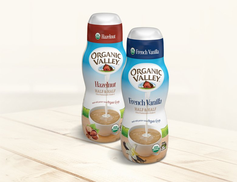 Organic Valley Flavored Half & Half