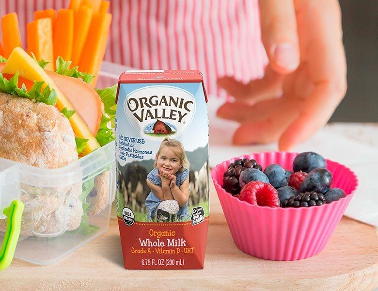 Organic Valley Whole Single-Serve Milk
