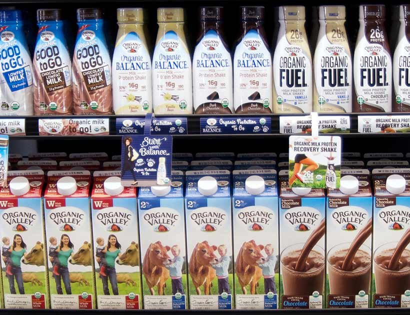 Organic Valley 牛奶