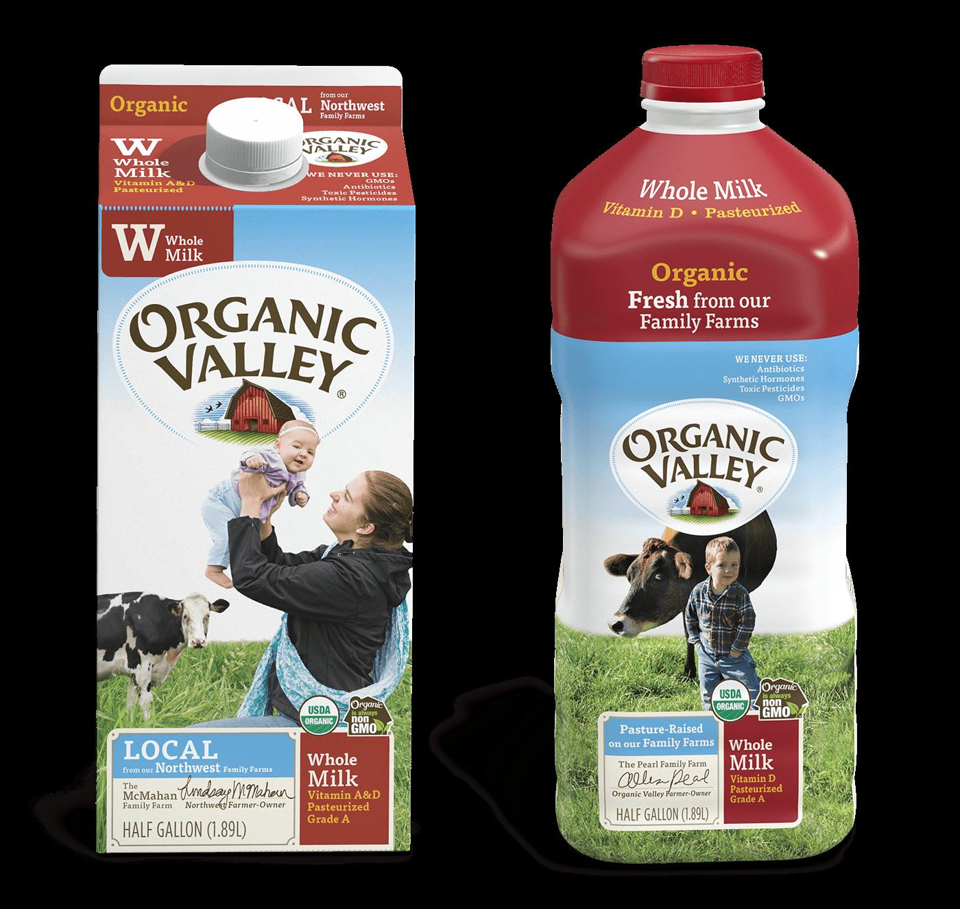 Organic valley milk coupons 2019