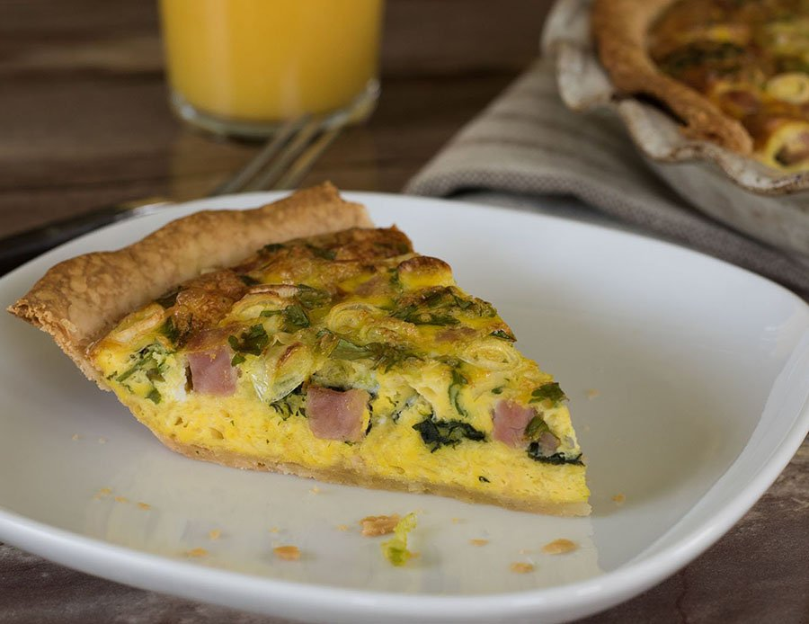 Breakfast Delight Quiche