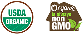 USDA Certified Organic | Organic is always nonGMO